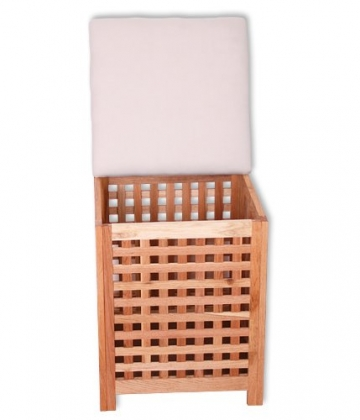 kmh truhensessel w schekorb holz schatztruhe kaufen. Black Bedroom Furniture Sets. Home Design Ideas