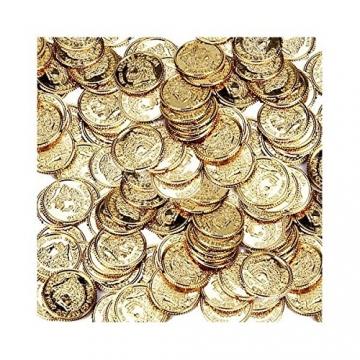 Piratenmünzen Spielgeld Münzen 144 Stück Schatztruhe Kaufen Online