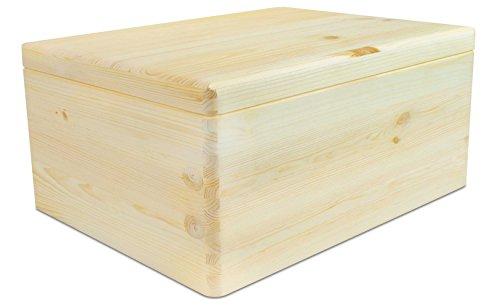 VENKON - Universal Holzkiste mit Deckel, ca. 30 x 20 x 14